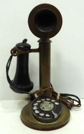 14: Brass Candlestick Phone