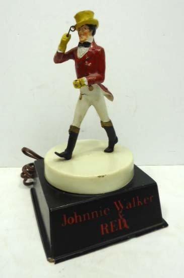 79: Johnnie Walker Lighted Sign