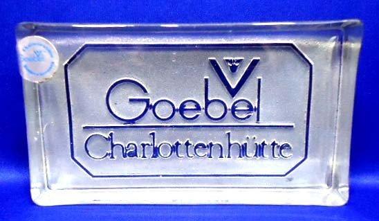 80: Goebel Paperweight