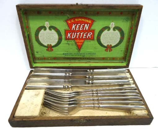 93: Keen Kutter Flatware in Orig. Box