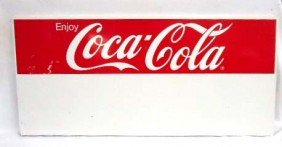 Tin Coca Cola Adv. Sign