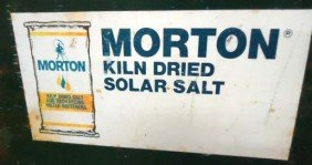 Tin Morton Salt Adv. Sign