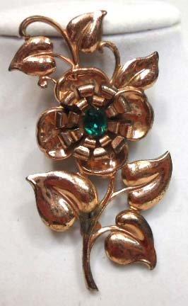 5B: Vintage Floral Brooch