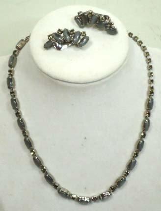 5D: Vintage Necklace w/ Earrings