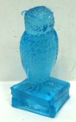 8: Glass Owl Paperweight