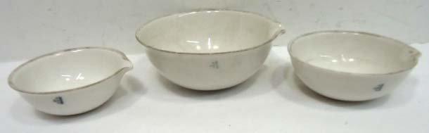 9: 3pc Apothecary Bowls