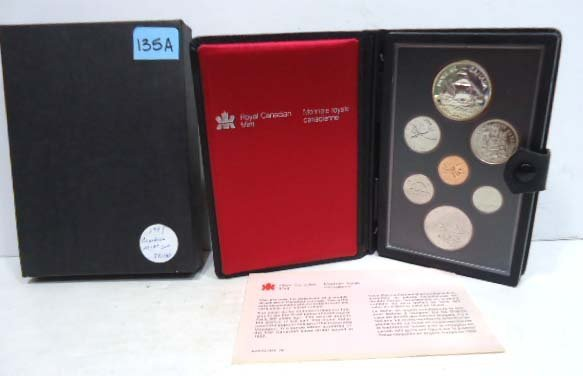 135A: 1997 Canadian Mint Set