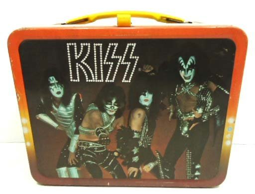 140A: 1977 Kiss Lunch Box w/ Thermos