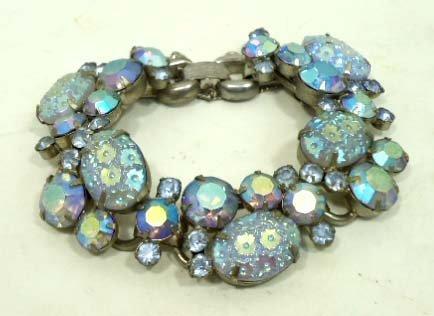 2: Vtg. Juliana D&E Iridescent Bracelet - 2