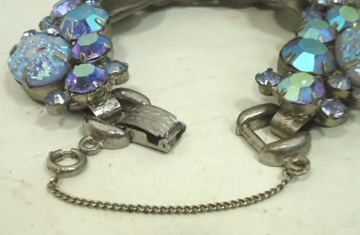 2: Vtg. Juliana D&E Iridescent Bracelet - 4