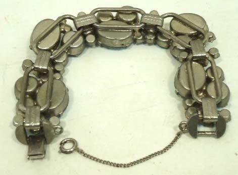 2: Vtg. Juliana D&E Iridescent Bracelet - 5