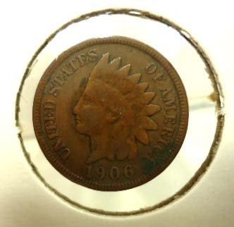 29: 5 Indian Head Pennies - 5