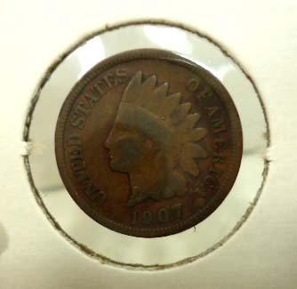 29: 5 Indian Head Pennies - 6