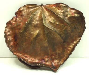 103: Vtg Bergamot Brass Works & Linden Leaf Buckles - 3