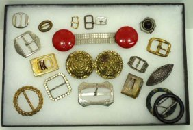 Vtg. Metal Buckle Collection