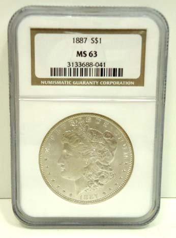 157: 1887 Dollar
