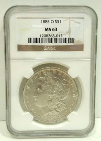 158: 1885 O Dollar