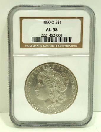 159: 1880 O Dollar