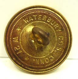 "212: 5 Vtg. Waterbury Cos Conn ""W21"" Buttons - 2"