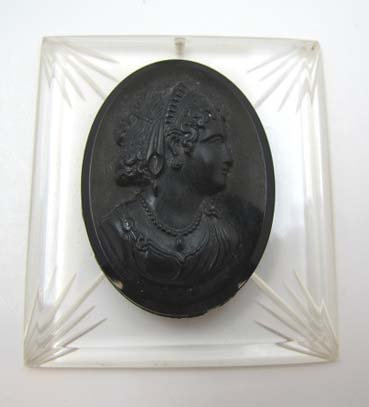 Vict. Mourning Pendant