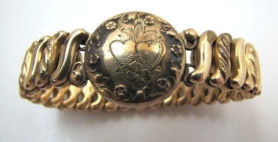 Antique Sweetheart Bracelet