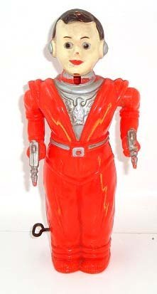 1: Plastic Wind Up Space Man
