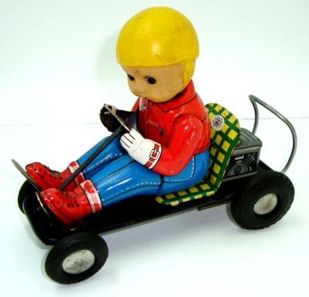 4: Japan Tin Friction Go Kart