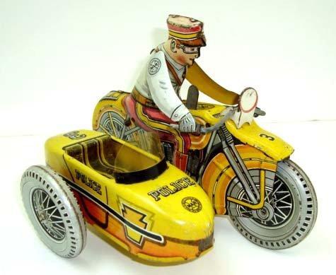 7: Key wind Marx Motorcycle Cop