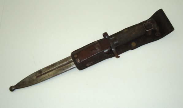 11: Bayonet & Scabbard