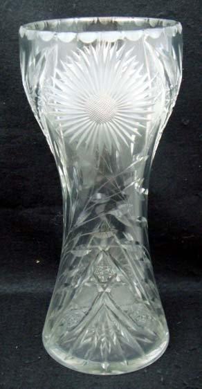 4: Cut Glass Vase