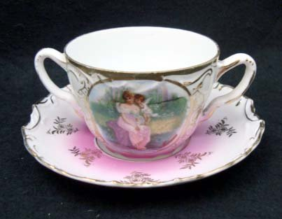 8A: HP Germany Boullion Cup and Saucer