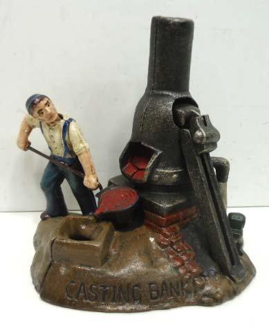 6: Cast Iron Bank