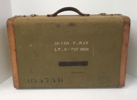 1: WWII Named Army Nurse Suitcase