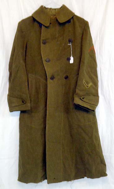 6: WWI Enlisted Overcoat