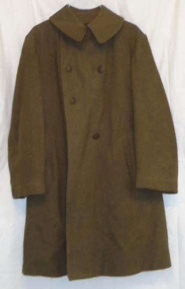 7: WWII Enlisted Overcoat