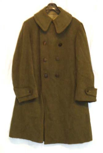 8: WWI Enlisted Overcoat