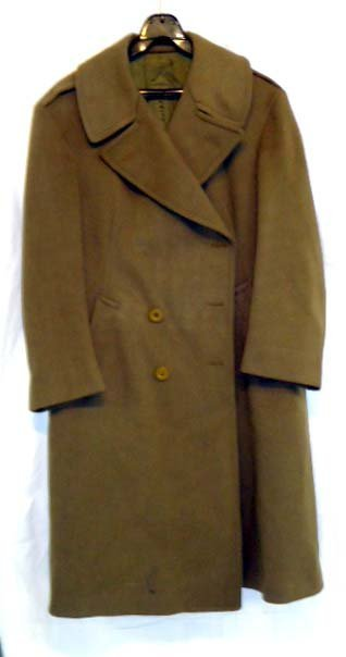 9: WWII Officers Overcoat