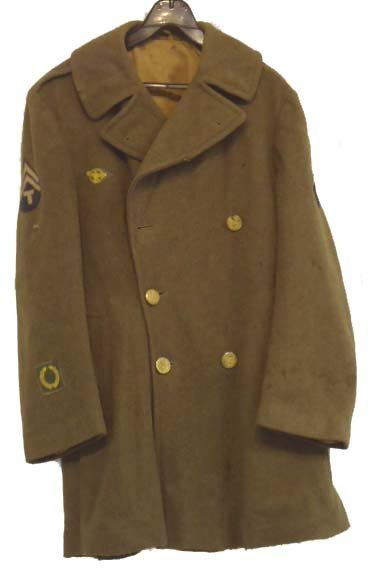 11: WWII Enlisted Overcoat