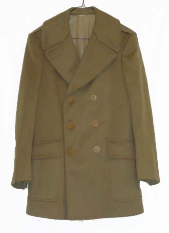 20: WWII Officers Overcoat