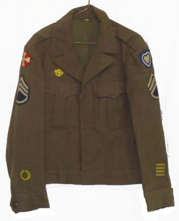 21: WWII Ike Jacket 24th Army Corps.