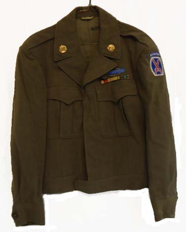 22: WWII 10th Mountain Division Ike Jacket