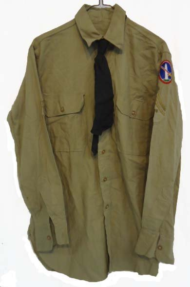 24: WWII Military Dist. Of Wash.D.C. Shirt /Tie