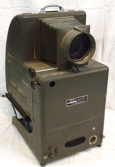 264: US Army Signal Corps Projector