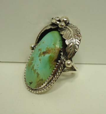 9: Navajo Sterling & Turquoise Ring