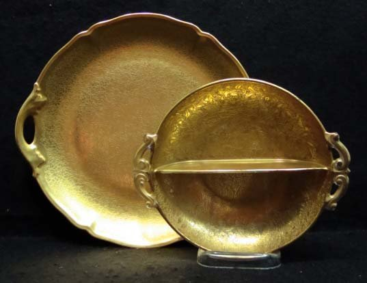 5: 2pc Gold Dishes
