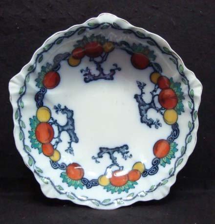 7: Flow Blue Losol Ware Serving Bowl