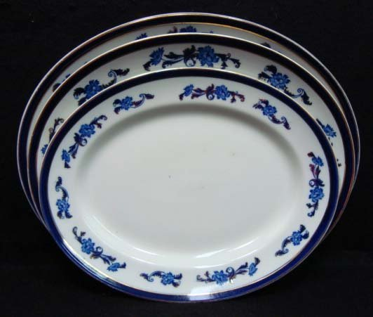 11: Set of 3 Wedgwood Platters