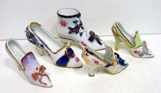 9: 5 HP. Porcelain Shoes