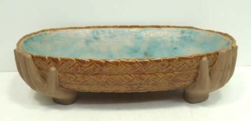 10: Pottery or Stoneware Tray
