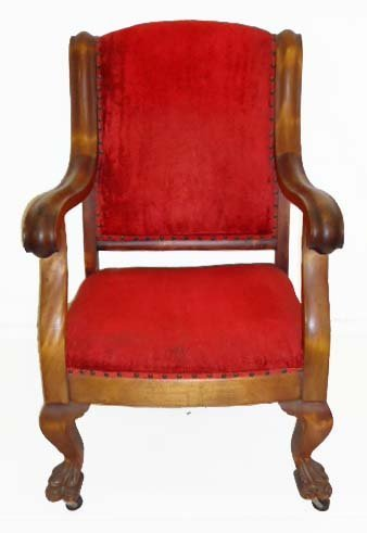 10A: Claw Foot Armchair